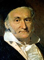 Carl Friedrich Gauss - possible not a hit with the babes.